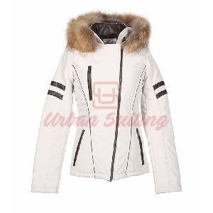 Ladies White Jacket