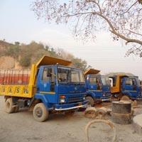 Stone Grit Transportation
