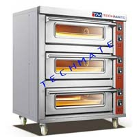 Electric Backing Oven 3-Deck