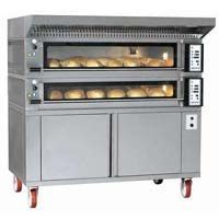 Two Deck Oven With Proofer