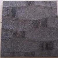 3D Silver Grey Quartzite Stone Tile