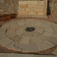 Garden Paving Circles (Radial Circle 10' dia)
