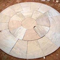 Garden Paving Circles (Radial Circle 8' dia)