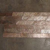Ledge Stone Wall Panel (Copper 6 strip Z shape)