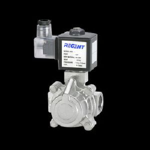 Pilot Operated Piston Type Steam Solenoid Valve