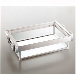 Soft Close Glass Side Basket