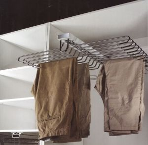 Soft Close Top Double Line Trouser Rack