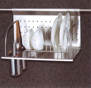 Stainless Steel Pot Rack