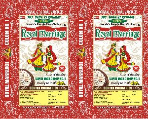 Royal Marriage Sortex Colom Rice