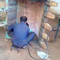 Welding Excavator Bucket