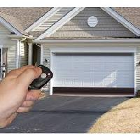 remote controlled rolling garage doors