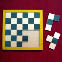 Creative Puzzle Game for Blind