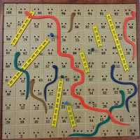 Snake & Ladder Board Game Item Code : 20111
