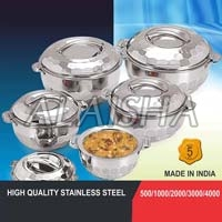 5 Pcs Stainless Steel Insulated Casserole Set