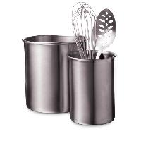 stainless steel utensil holder