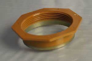 50 mm Hot rolled carbon  steel flange with Lacquer coating