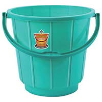 261 Plastic Striped Bucket