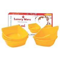 Microwavable Plastic Bowl Set 06