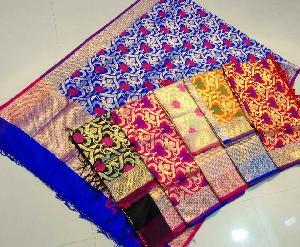 Banaras Semi Silk Dupatta 01