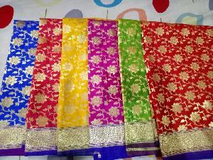 Banaras Semi Silk Dupatta 12