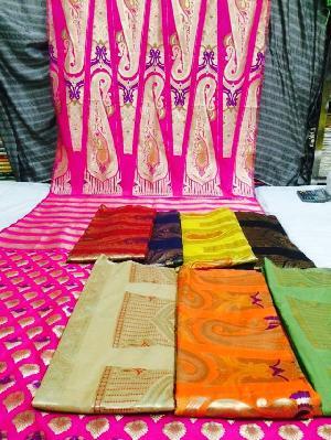 Banarasi Lahenga Kali Fabric