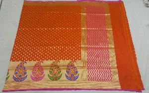 Banarasi Pure Katan Silk Saree 02