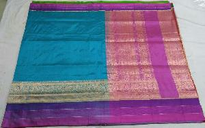 Banarasi Pure Katan Silk Saree 10