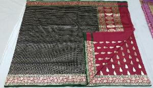 Banarasi Pure Katan Silk Saree 13