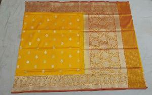Banarasi Pure Katan Silk Saree 14