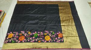 Banarasi Pure Katan Silk Saree 20