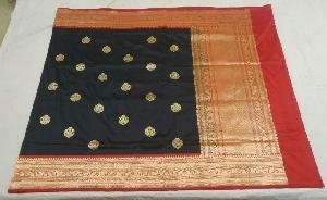 Banarasi Pure Katan Silk Saree 21