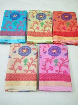 Cotton Silk Saree 01
