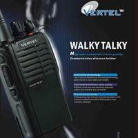 MIL-STD 810 Vertel Walkie Talkie