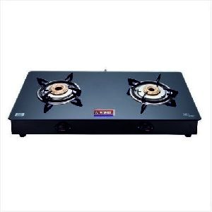 BB Nandi Two Burner Glass Top Gas Stove