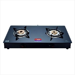 BL Nandi Two Burner Glass Top Gas Stove