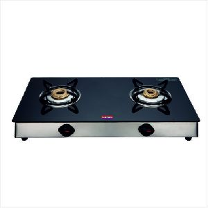 SSB Nandi Two Burner Glass Top Gas Stove