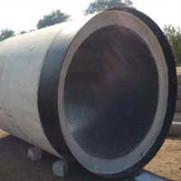 Vertical Concrete Pipes HDPE Lined