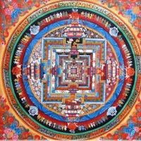Tibetan Thangka Painting 01