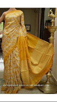 Tussar Silk Saree 09