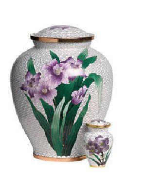 188143 Designer Brass Cremation Urn