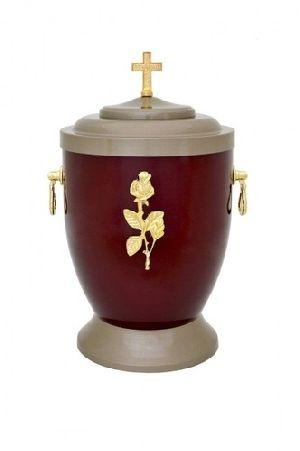 188182 Beautiful Brass Metal Cremation Urn