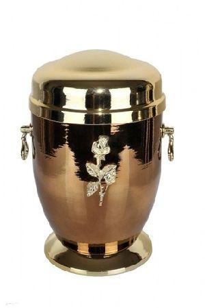 188188 Beautiful Brass Metal Cremation Urn