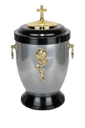 188193 Beautiful Brass Metal Cremation Urn