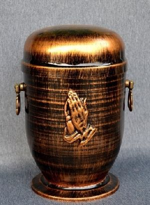 188198 Beautiful Brass Metal Cremation Urn