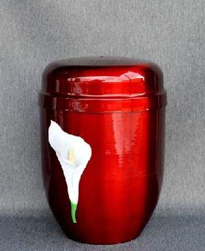 188202 Beautiful Brass Metal Cremation Urn