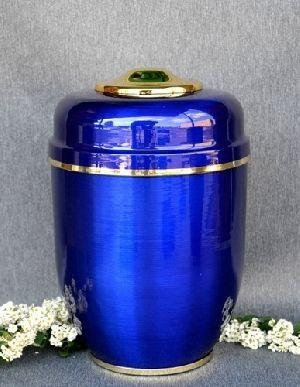 188204 Beautiful Brass Metal Cremation Urn