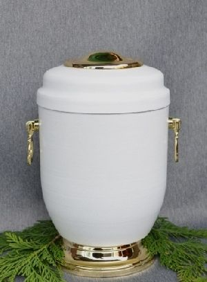 188207 Beautiful Brass Metal Cremation Urn