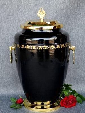 188212 Beautiful Brass Metal Cremation Urn