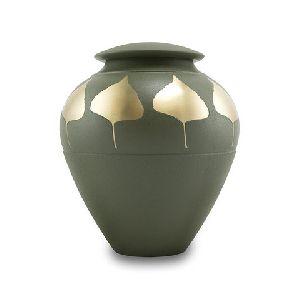 188226 Designer Brass Cremation Urn
