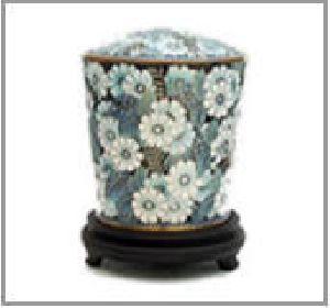 188269 Designer Brass Metal Cremation Urn